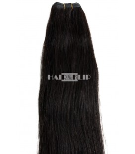 CABELLO COSIDO COLOR 1B, 60 - 65 CM
